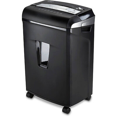 Aurora JamFree AU1235XA 12-Sheet Cross-Cut Paper / Credit Card Shredder