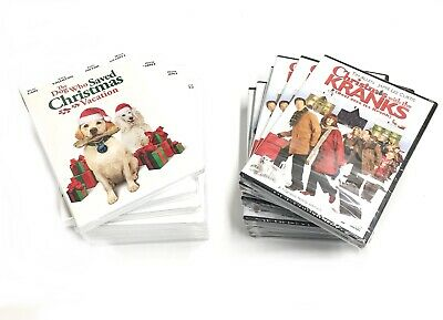 SET LOT of 8 Christmas with the Kranks + 8 More Special DVD Movies NEW RX1/25
