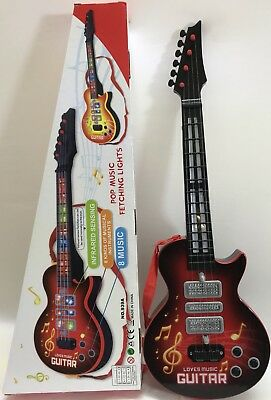 4 Strings Music Electric Guitar Kids Musical Instruments Educational Toy