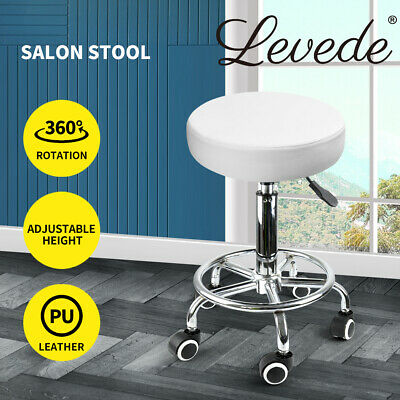 Hairdressing Salon Chair Equipment Hydraulic Stool Barber Massage Beauty White
