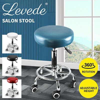 Salon Stool Hairdressing Barber Chair Beauty Swivel PU Equipment Lift SGS