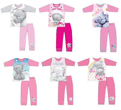 Girls Me To You Tatty Teddy Bear Pjs Pyjamas Sleepwear Ages 5 to 12 Years