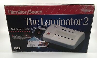 Hamilton Beach The Laminator 2 Sealing Equipment/Machine (Card Size)  80800