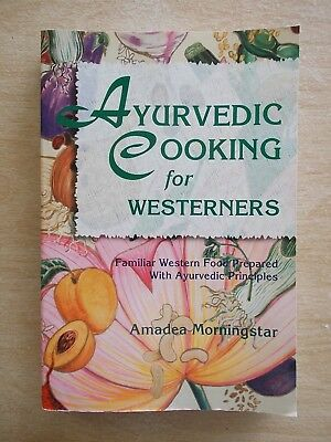 Ayurvedic Cooking for Westerners~Recipes~Cookbook~395pp P/B~1995