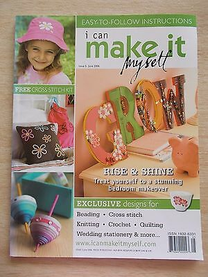 I Can Make It Myself #5~Knit~Crochet~Sew~Quilt~Wall Art~Bead~Journal~Embroidery