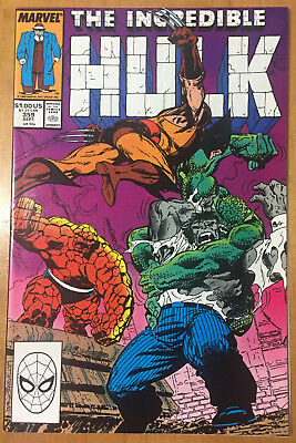 THE INCREDIBLE HULK #359 (Sept.1989 Marvel) NM 9.2 Free S&H