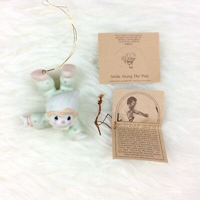 Precious Moments Smile Along The Way Clown Ornament With Papers 113964