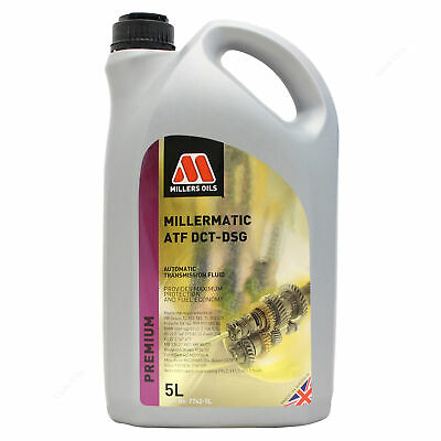 Millers Oils Millermatic ATF DCT-DSG Automatic Transmission Fluid 5 Litres 5L