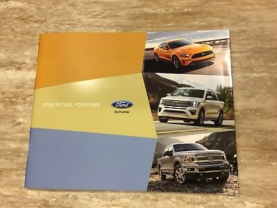2018 FORD FULL-LINE 40-page Original Sales Brochure
