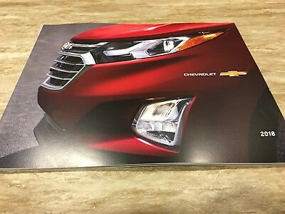 2018 CHEVROLET FULL-LINE 48-page Original Sales Brochure