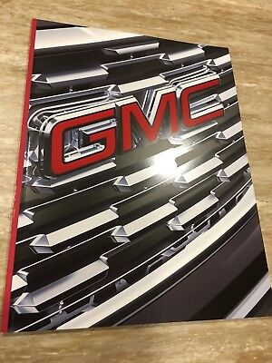 2018 GMC FULL-LINE 52-page Original Sales Brochure