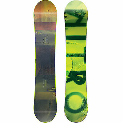 Nitro Cinema All Terrain Freestyle Snowboard Gullwing Camber Men's 2018 NEW