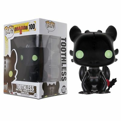 Funko POP! Movies How To Train Your Dragon 2 Toothless PVC Action Figure toy
