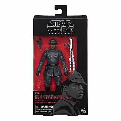 New Star Wars The Black Series The Last Jedi Finn (Disguise) Figure C1416