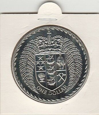 1979     New Zealand One Dollar Coin   Proof Or Near Proof