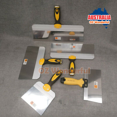 """6"""" 8"""" 10"""" 12"""" 14"""" Stainless Steel Taping Knives Knife Plastering Supplies"""