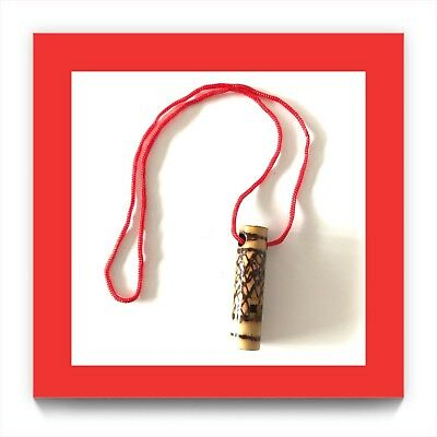 Bamboo Hand Made Bird Whistle ~ Made In Thailand