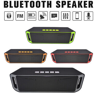 MINI Wireless Bluetooth Speaker USB Flash FM Radio Stereo Bass MP3 Music Player