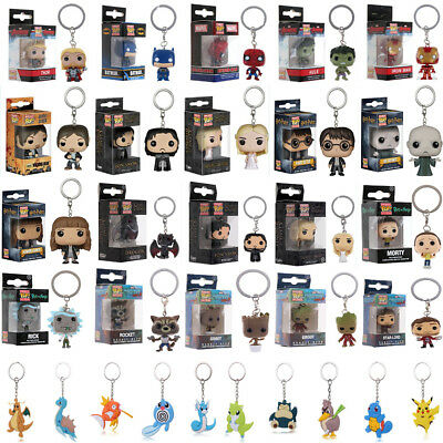 Funko Pocket Pop! Keychain Baby Groot, Batman, Pikachu Vinyl Figure Keyring