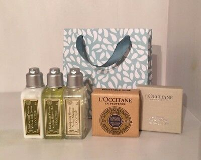 Loccitane Travel Set Verbena. Geschenkset mini gift set