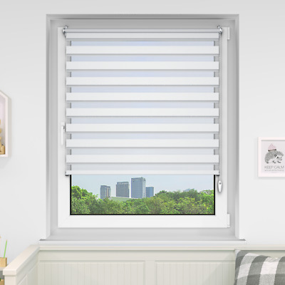Day and Night Roller Blinds Blind Zebra/Vision Many Sizes/Colours Day-Night
