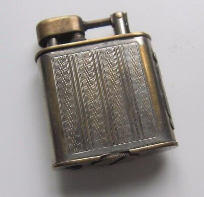 Antique French Art Deco Petrol Lighter Lift arm old vintage SPP