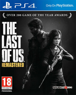 The Last of Us Remastered - PS4  -  NUOVO SIGILLATO E ITALIANO
