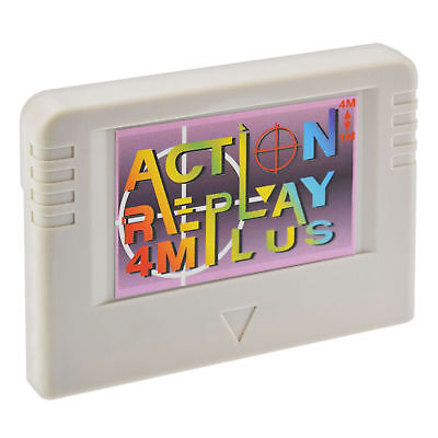 Action Replay 4M Plus for SEGA Saturn with 4 Megabyte Memory Card