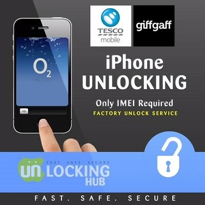 FACTORY UNLOCK SERVICE FOR APPLE IPHONE 8 & 8 Plus FOR O2