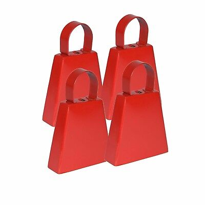 Red Pain Post Box Cowbell Pack 4 [GoGo Bells]