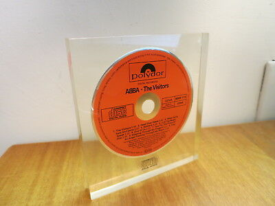 Abba The Visitors West Germany CD Polydor Polygram Prototype Promo 1982 Display