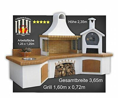 palazzetti gartengrillkamin nuovo vulcano backofen gartengrill garten eur picclick de. Black Bedroom Furniture Sets. Home Design Ideas