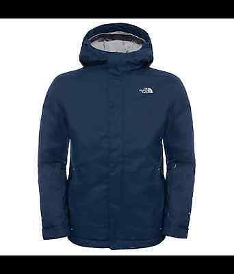 The North Face Youth Snow Quest Jacket (Cosmic Blue)