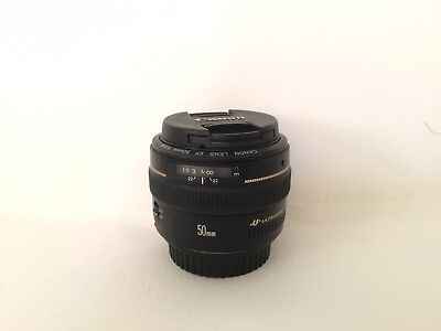 Canon Prime Lens -  EF 50 mm F/1.4 EF USM for Canon - Black