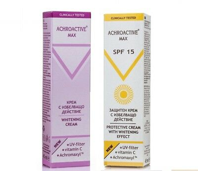 Whitening Products ACHROACTIVE® MAX by Rosa Impex Removes Freckles & Pigment Spo