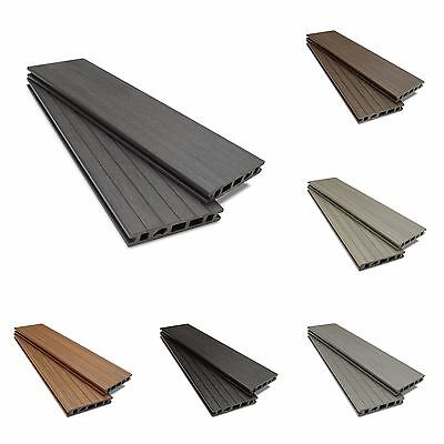 Composite Decking Clarity Walnut Sample Wood Plastic Composite Ecoscape UK WPC