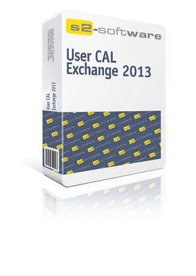 Microsoft Exchange Server 2013 User CAL | 100% sicher | inkl. Support