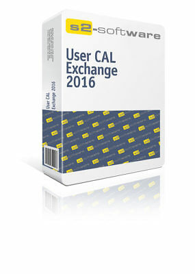 Microsoft Exchange Server 2016 User CAL | 100% sicher | inkl. Support