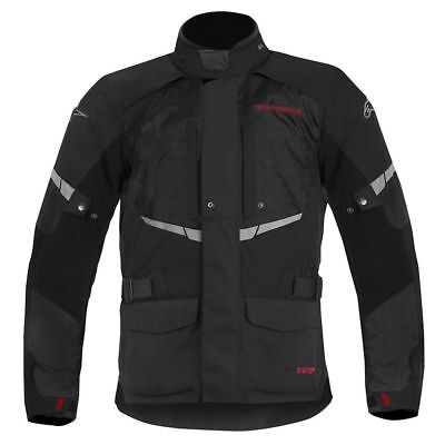 Alpinestars Andes Drystar Jacket Black Tech-Touring Tourer Motorcycle Bike Unix