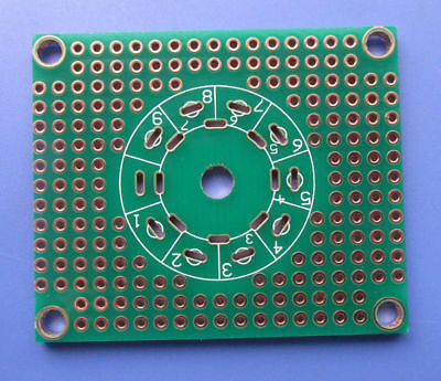 Universal Prototype PCB for 8Pin 7pin/9pin Tube Amplifier Preamp Headphone Valve
