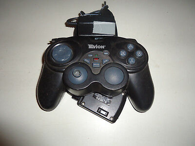 Playstation 2 Tevion wireless Controller schwarz B-Ware