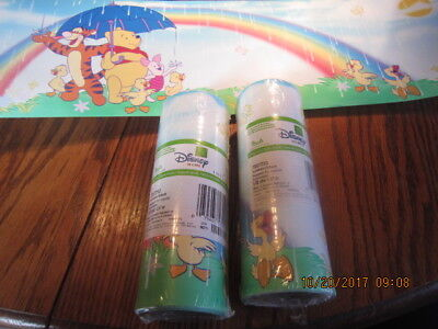 2- Rolls Winnie the Pooh Disney Home Wallpaper Border  5 yds per roll
