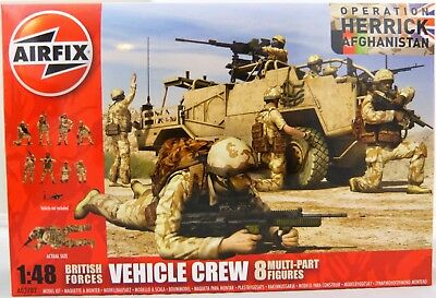 Airfix Nr. A03702 British Forces Vehicle Crew in 1:48