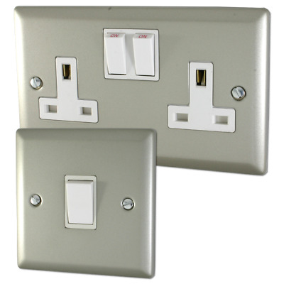 Volex Satin Chrome Sockets and Switches