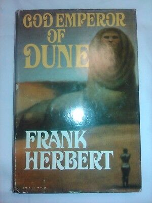 GOD EMPEROR OF DUNE Frank Herbert BCE hardcover book 1981 novel
