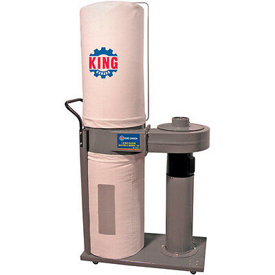 King Canada Tools KC-2105C 600 CFM DUST COLLECTOR Collecteur de Poussière