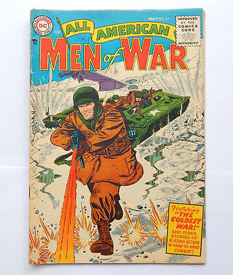 All American Men of War #21 by DC (May 1955) GD+