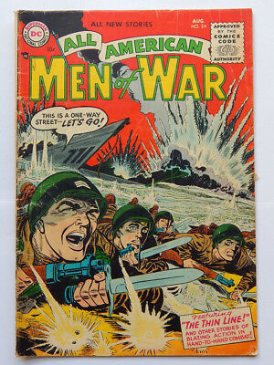 All American Men of War #24 by DC (Aug 1955) GD