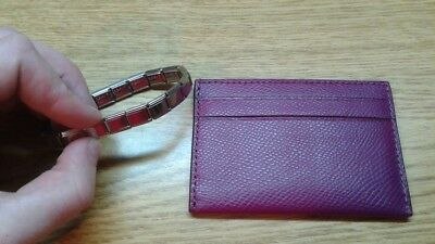 Coach Card Case Brand New, never used. and Italian charm bracelet starter