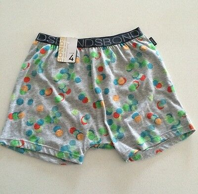 Bonds Kids Grey Confetti Pajama Short Size 4 BNWT Sold Out